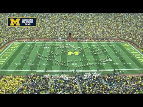 """9/11 Tribute"" - September 10, 2016 - The Michigan Marching Band"