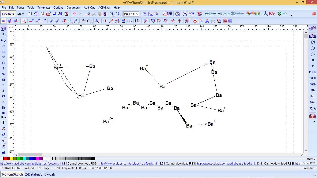 Tutorial ChemSketch
