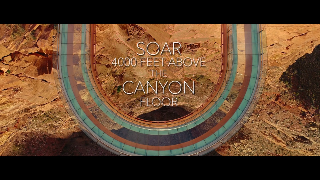 Face Your Fear Of Heights On The Grand Canyon Skywalk More Than 4 000 Ft Above The Ground