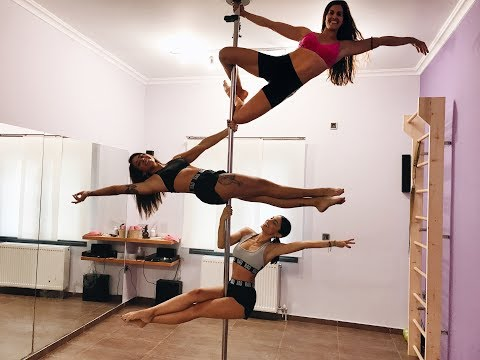 Pole Dancing με την Ευρυδίκη Βαλαβάνη | Ευχαριστώ κορίτσια ♥️