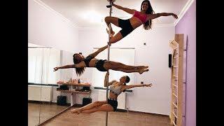 Pole Dancing με την Ευρυδίκη Βαλαβάνη   Ευχαριστώ κορίτσια ♥️