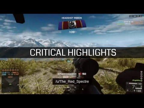 Jogador de Battlefield 4 acerta tiro de sniper a 2,4 km de distância do alvo - Critical Highlights