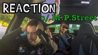 M.P.STREET NO CUPRA R !!! *REACTION*
