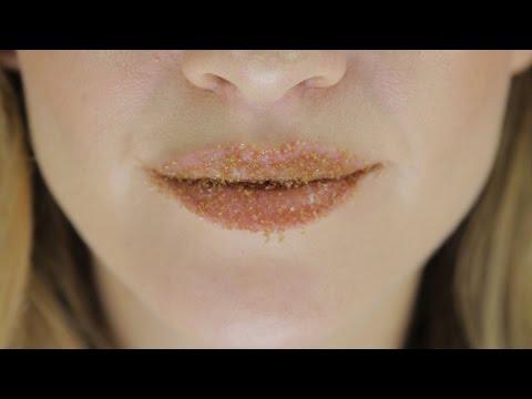 Doğal Dudak Bakımı - Dudak Peelingi