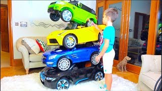 Cars and Magic Little Driver ride on Toy Cars and Transform car for kids