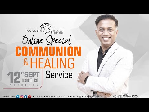 20200912 | KSM | How to Tap Into the Anointing – II | LIVE | Pastor Michael Fernandes