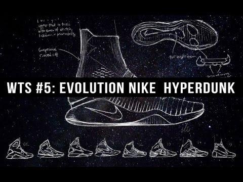 ЭВОЛЮЦИЯ БАСКЕТБОЛЬНЫХ КРОССОВОК NIKE HYPERDUNK EVOLUTION WhatTheSneakers#5