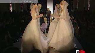 ELIE SAAB Haute Couture Spring Summer 2001 Paris - Fashion Channel