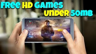Top 10 HD Offline Games with High Graphics Under 45 MB