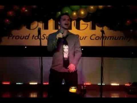 Derrick Barry Oops!...I Did It Again LIVE Karaoke