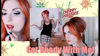 Get Ready With Me- Pinup Inspired Look for the Day! by CHERRY DOLLFACE