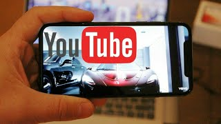 YouTube for iOS Gets a Pinch to Zoom for Full-Screen Viewing on iPhone 10 or iPhone X