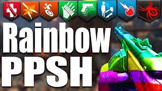 RAINBOW PPSH CHALLENGE - Gorod Krovi (Call of Duty: Black Ops 3 Zombies)