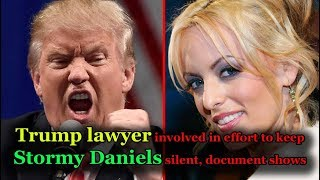 trump lawyers are pressing Stormy Daniels to give up the case,  full documents inside this video