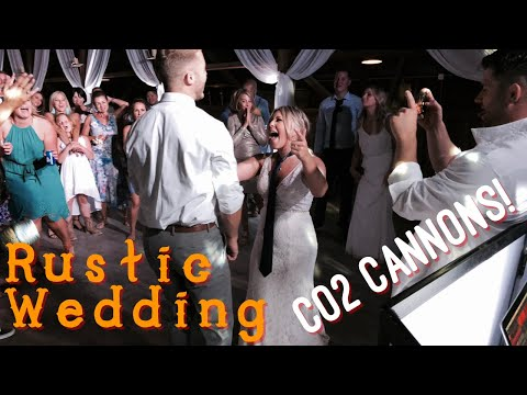 GIG LOG 008 | RUSTIC WEDDING | CO2 CANNONS | LIVE MUSICIAN להורדה