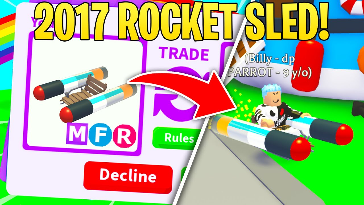 *HONESTY TEST*  Is this 2017 ROCKET SLED yours?  (adopt me)