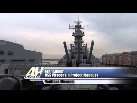USS Wisconsin Undergoes INSURV