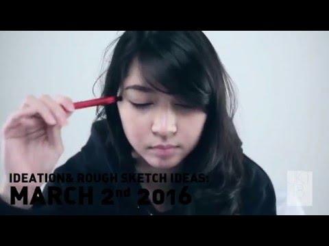 """Jessica Veranda mendesain CD Jacket Art """"Mahagita"""" JKT48"""