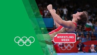 Olympics: Natalia Vorobieva relives her Freestyle Wrestling Gold - London 2012 | Olympic Rewind