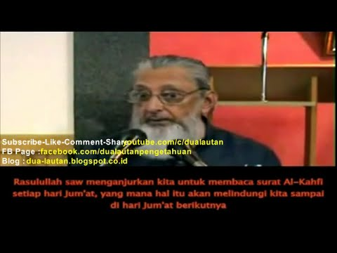Sheikh Imran N. Hosein : Nasehat dari Rasulullah s.a.w. agar Kita Terlindung dari Dajjal