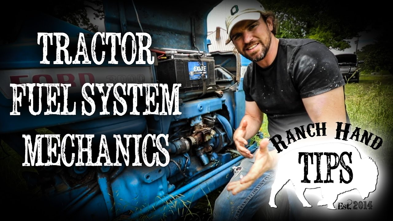 Basic Functions Of Tractor Fuel System And Mechanics Ranch Hand Zenith Carburetor Ford 2000 Tips