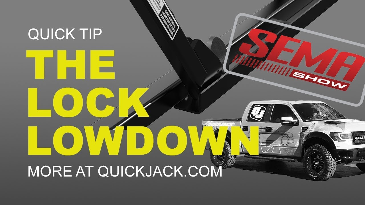 Quick Jack Com >> Are Quickjack S Locks Safe Here S How They Work Youtube