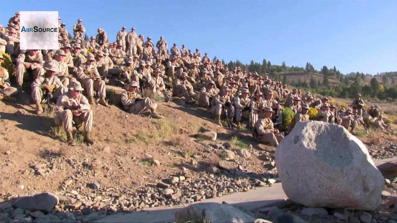 US Marines Training at Marine Corps Mountain Warfare ...