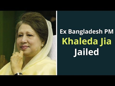 Former Bangladesh PM Khaleda Zia Gets 5 Years Jail In Corruption Case
