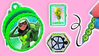 🐢DIY: Miniature Carapace MIRACULOUS LADYBUG School Supplies ( Backpack, Notebook) REALLY WORKS🐢