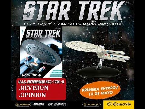 COLECCION OFICIAL DE NAVES STAR TREK / U.S.S. Enterprise NCC-1701-D | EL COMERCIO PERU