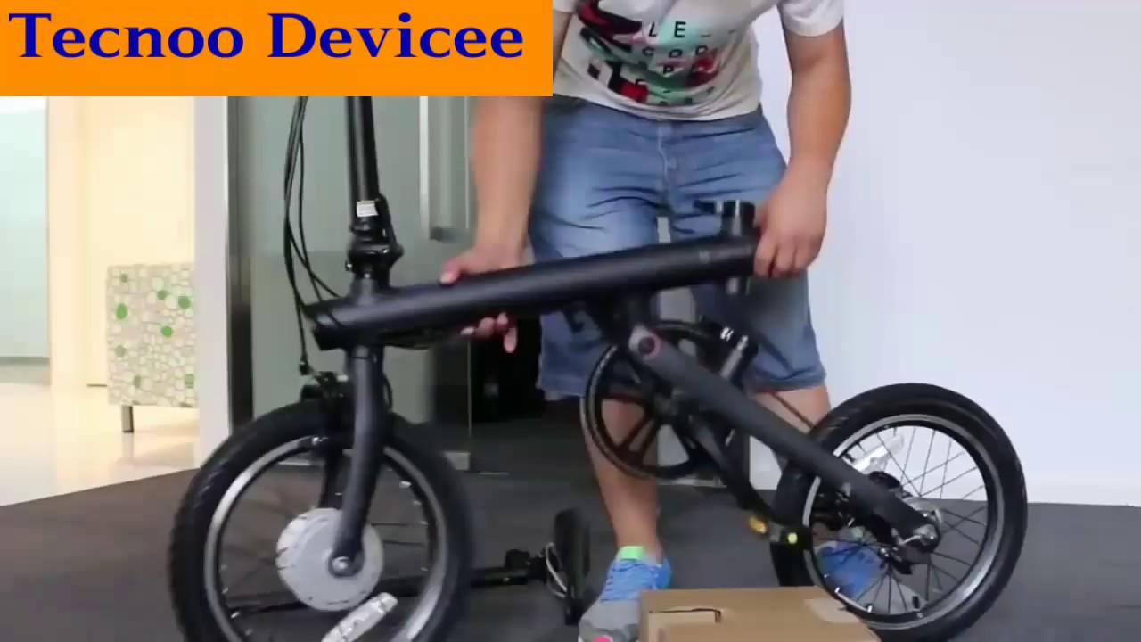 Xiaomi Qicycle La Bici Elettrica Pieghevole Montaggio E Prova