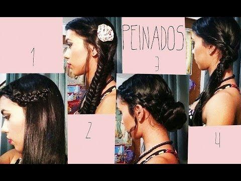 4 peinados f ciles r pidos y coquetos paso a paso kathy - Peinados faciles y rapidos paso a paso ...