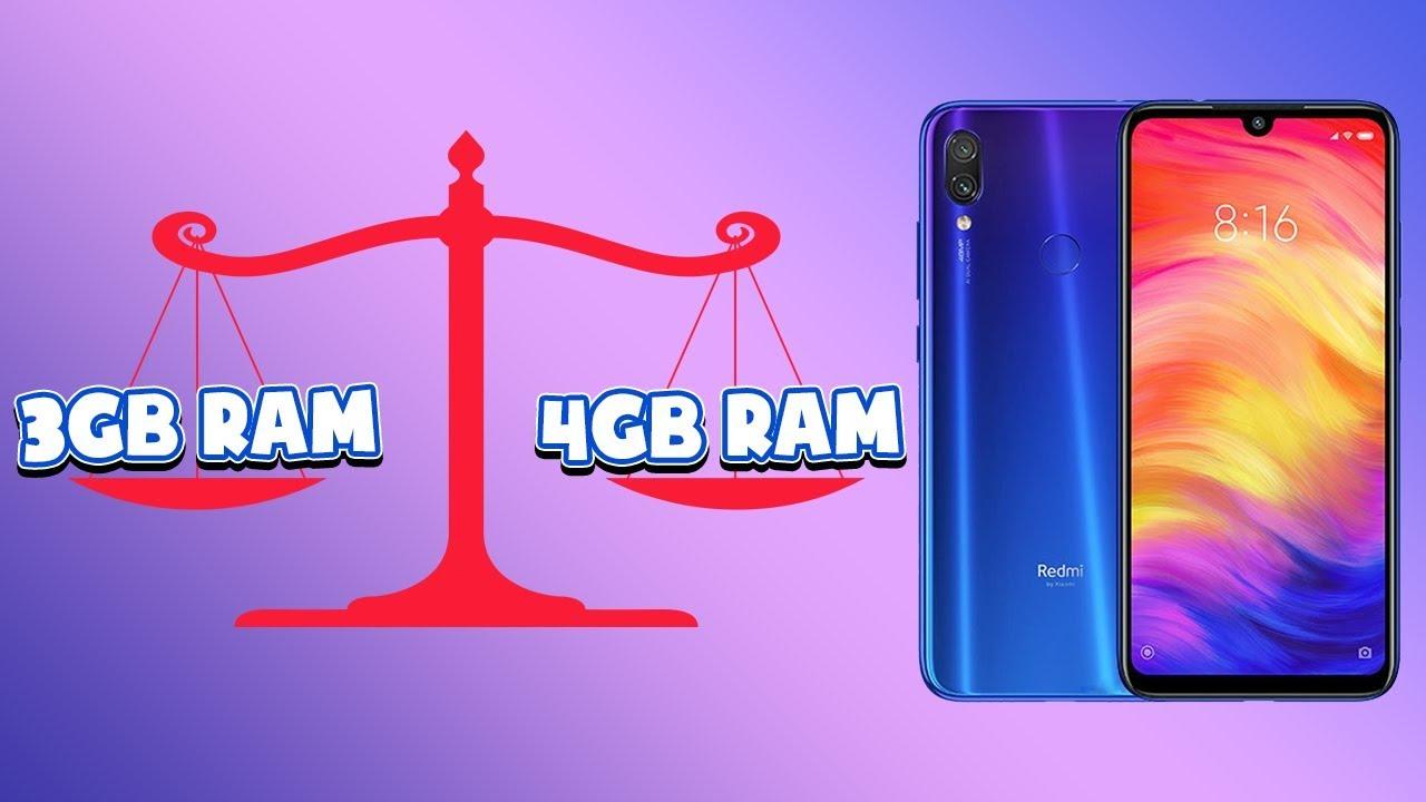 Redmi Note 7 chính hãng về hàng: Mua bản 3GB or 4GB RAM?