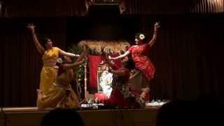 Saraswati Puja 2013- Aparajita, Paramita, Kamalkoli and Prachi