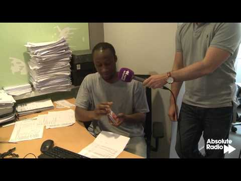 Dynamo surprises office worker live on Absolute Radio