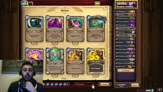 Hearthstone the basics of deck building(higlander dragon priest)