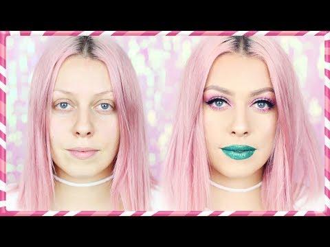 ZELENÉ RTY Makeup Tutoriál   VÁNOCE S ANY