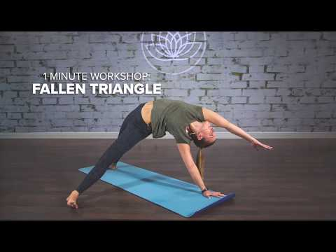 Erin Wimert - 1-Minute Yoga Workshop: Fallen Triangle Pose