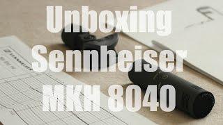 Unboxing Sennheiser MKH 8040 - 8000 Series / Sound Bite