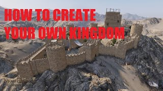 How To Form Your Own KINGDOM in Mount & Blade 2 Bannerlord! (quest chain)