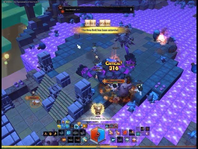 [MapleStory 2] Chaos Devorak First Clear in CBT2 - Heavy Gunner POV