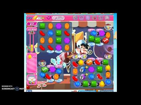 Candy Crush Level 2181 help w/audio tips, hints, tricks