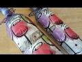 Mod Podge Wine Bottle using Dollar Tree Napkins - Upcycle Crafts