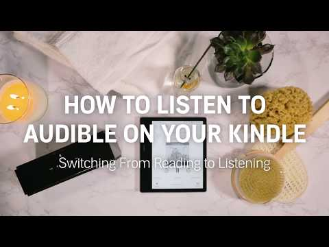 How to switch from reading to listening to Audible on your Kindle