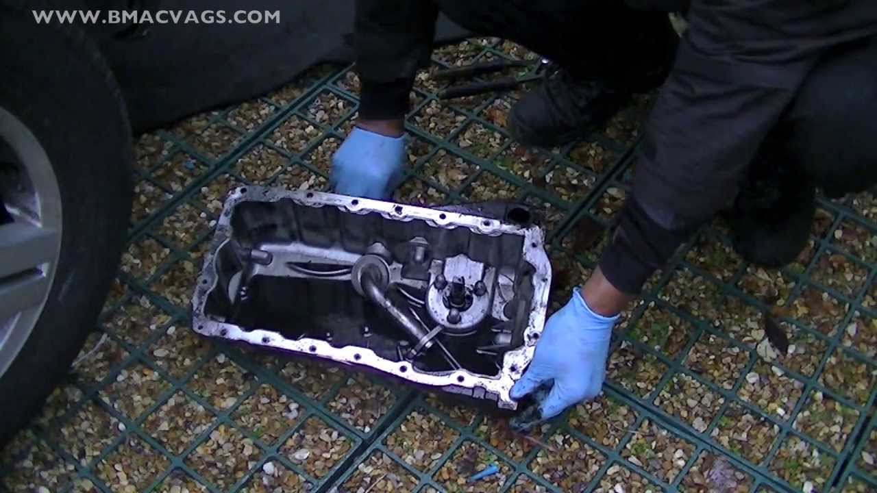 chevy 350 oil filter 60 amp sub panel wiring diagram how to remove a sump pan & clean pick up strainer - youtube
