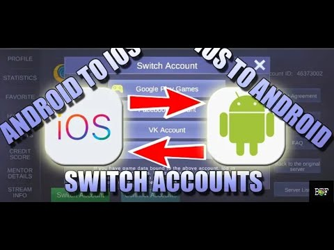 How To Connect/Bind Your FB/VK/GooglePlay Games Account On Your Mobile Legends Account
