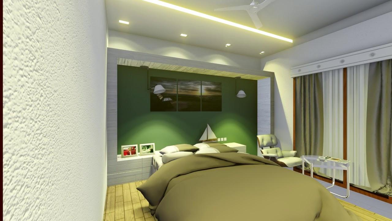 Desain Kamar Tidur Sederhana Ukuran 4x4 | Kumpulan Desain ...