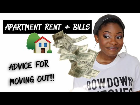 First Apartment Bills + Advice! // ADULTING IS EXPENSIVE!