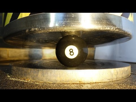 Gravity Press | 6 Round Objects (Instant Hydraulic Press) Crush Test