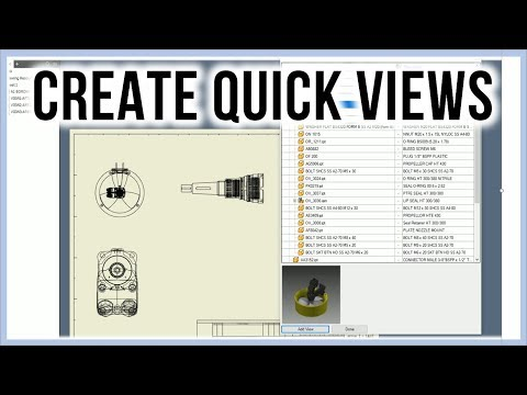Tip for creating very quick detail drawing views | Autodesk Inventor